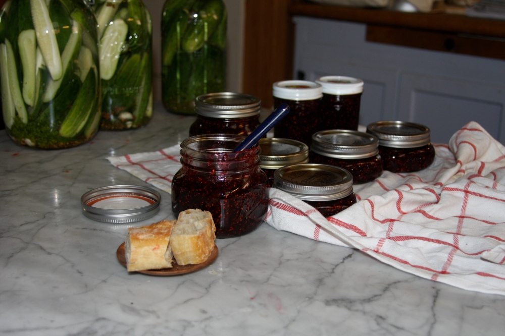 Kitchen blackberry jam
