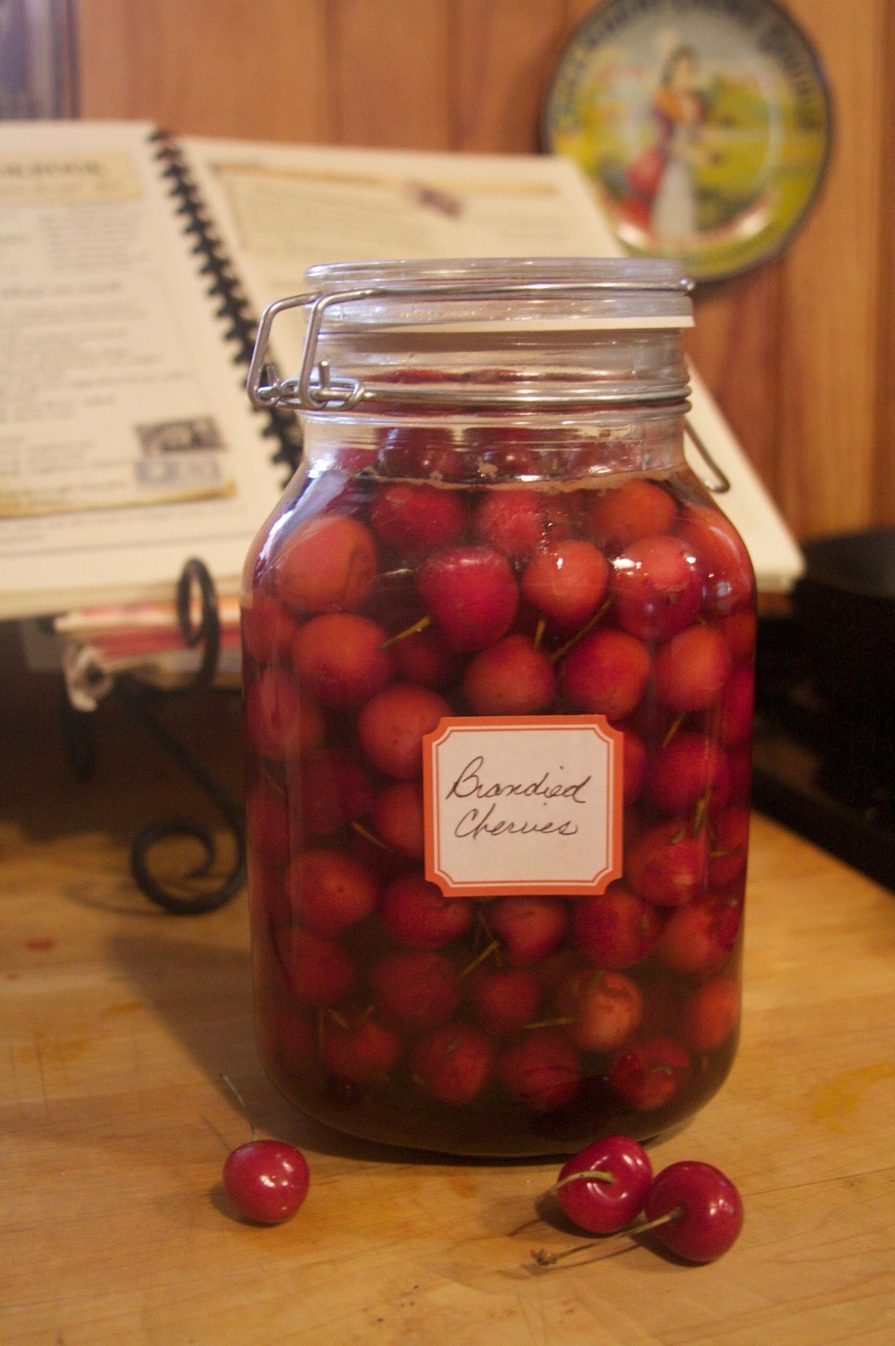F brandied cherries 2013