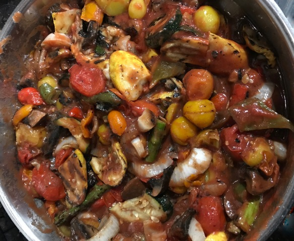 Grilled ratatouille 1.
