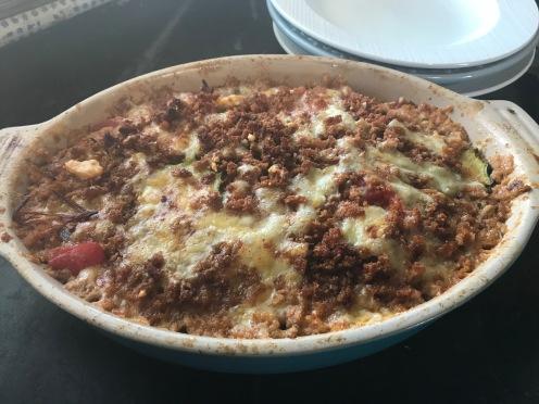 tomato casserole done