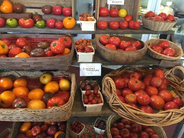 Tomatoes at Harlow's