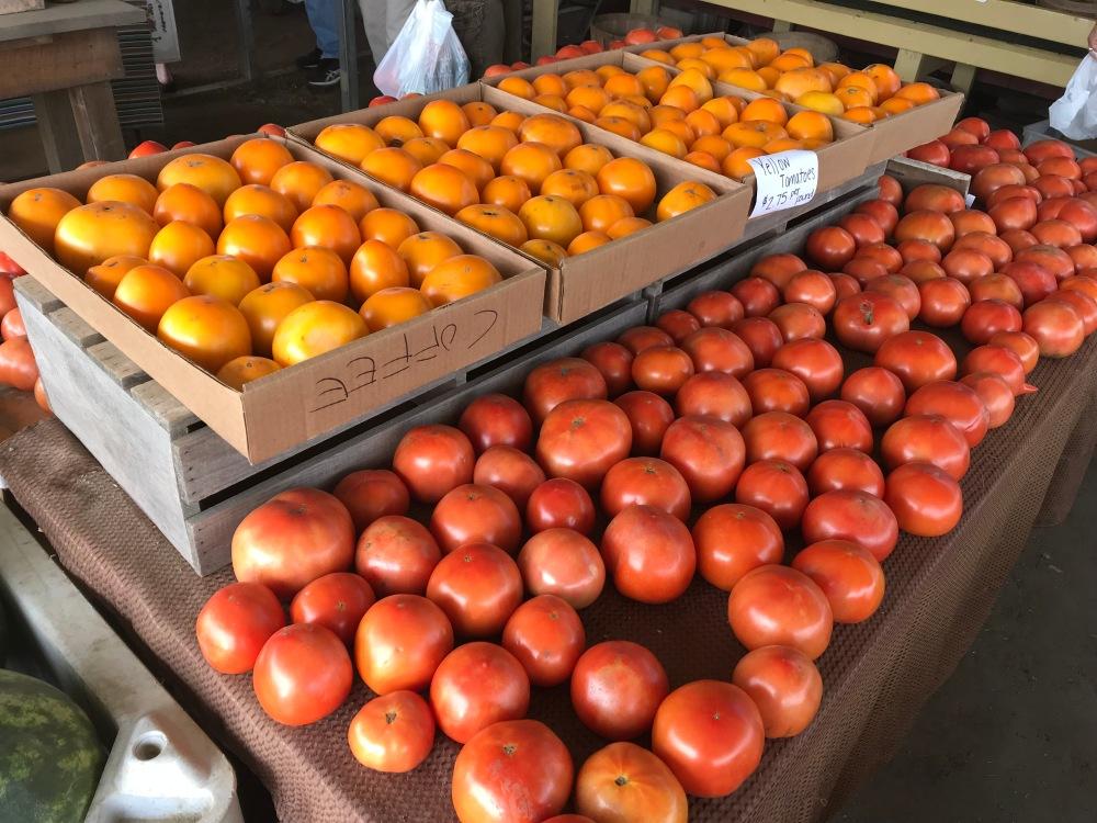 Tomatoes at Petes