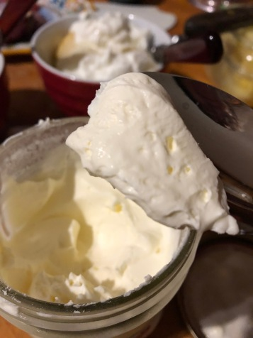 creme fraiche after two days