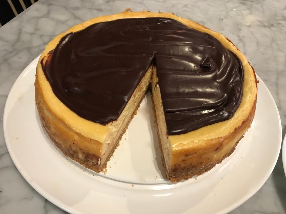 The cheesecake!!