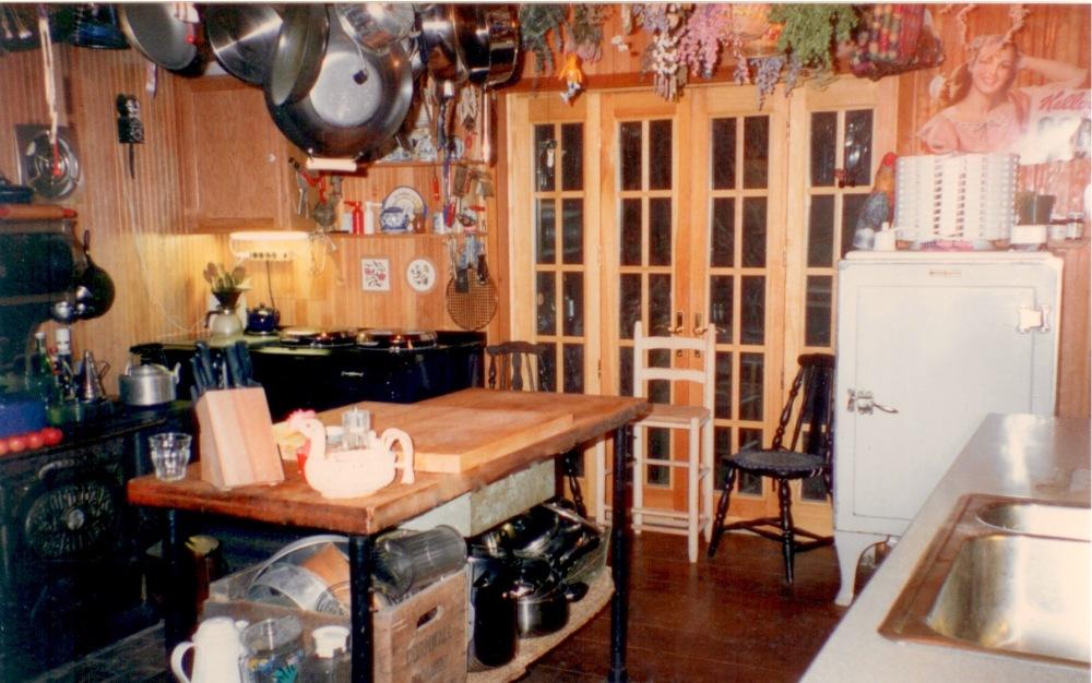 Kitchen in Peru, Vermont